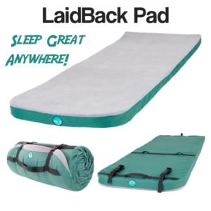 Laid Back Pad Memory Foam Camping Mattress